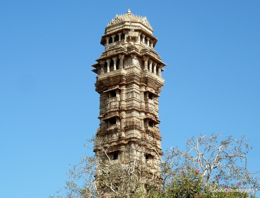Vijay Stambha or the 'Tower of Victory'.