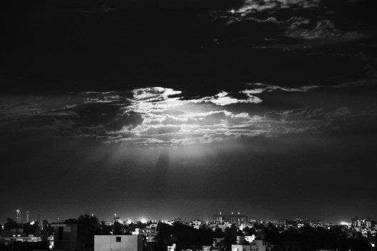 Moonlit Night in Bangalore 2014